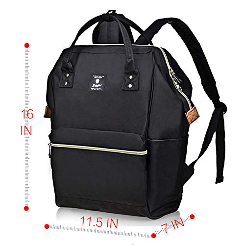 DEARFUN Laptop Backpack Casual Daypack Wide Opening 15.6'' Laptop Bag Water Repellent Nylon Business Bagwith USB Charging Port for Women&Men, Lightweight Travel Backpackfor College/Travel/Business by DEARFUN (Image #6)
