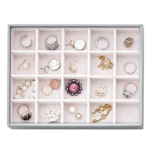 Vlando Miller Jewelry Tray Stackable Showcase