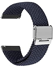 Dark Blue Nylon Strap solo buckle20mm - Suitable for any watch with 20mm Strap width