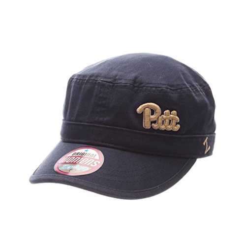 Zephyr NCAA Pittsburgh Panthers Women's Cadet Hat, Adjustable Size, Team Color Panthers Team Color