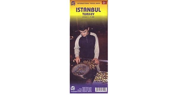 Istanbul (International Travel Maps): Amazon.es: Libros en idiomas extranjeros
