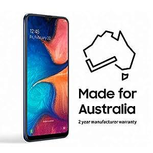 Samsung Galaxy A20 32GB Smartphone (Australian Version), Dark Blue