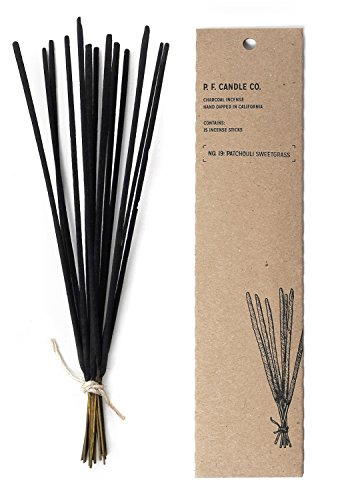 - P.f. Candle Co, Incense Patchouli Sweet Grass, 15 Count