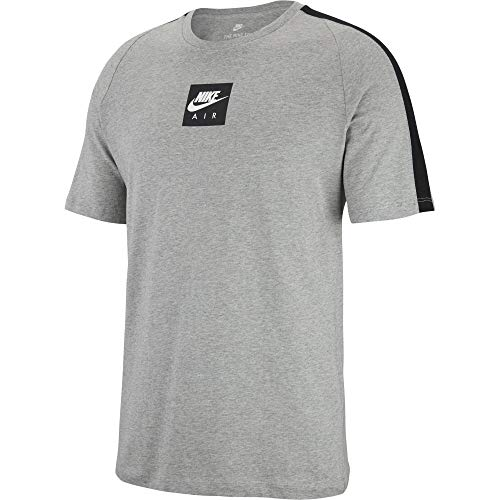 Heather Heather Dark shirt Nike Nike Nike Air T Grey black white 3 Cltr Homme InqY7OY8aw
