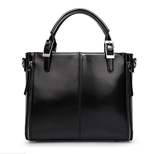 Minkoffo 2016 New Oil Wax Leather Soft Surface Solid Color Stitching Shoulder Bag Diagonal - Stores That Carry Burch Tory