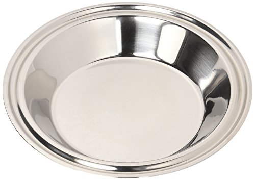 Hammer Stahl 9'' Pie Plate, Stainless Steel by Hammer Stahl