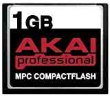 1GB Akai MPC CompactFlash CF Memory Card for MPC500, MPC1000, MPC2500, MPC4000, MPC2000xl, MPC2000 and MPC3000