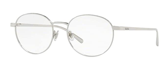 36fc82a006 Eyeglasses Brooks Brothers BB 1052 1002 SILVER at Amazon Men s Clothing  store