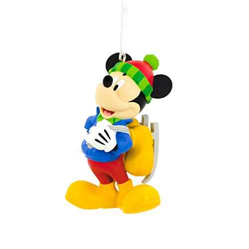 (Hallmark Disney Mickey Mouse Skating Christmas Ornament)