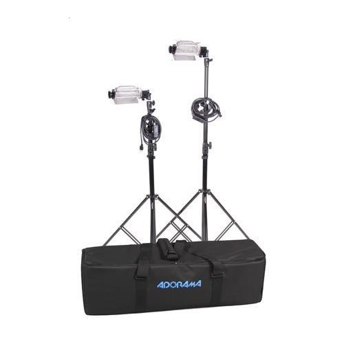 Lowel /Adorama Budget Tota Kit with Lamps (Angle Light Quartz Wide)