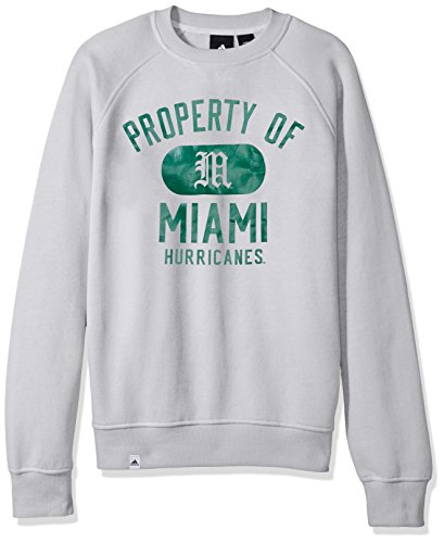 NCAA Miami Hurricanes Adult Men NCAA Property of Fleece - Hurricanes Fleece Ncaa Miami
