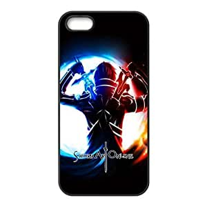 Fashion Sword Art Online Personalized iPhone 5 5S Rubber Silicone Case Cover