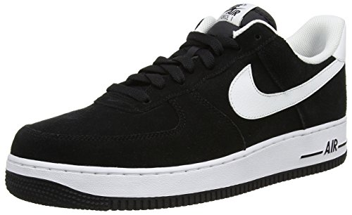 NIKE Mens Air Force 1 Low 07 Basketball Shoes Black/White 315122-068 Size 11.5