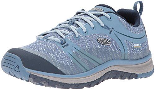 (KEEN Women's Terradora Wp-w Trail Runner,Blue Shadow/Captains Blue,9 M US)