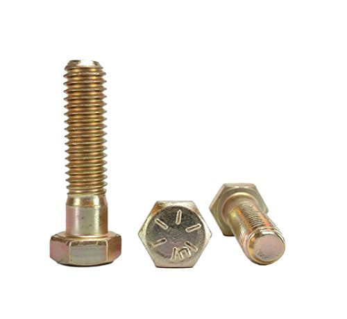 3/8-16 x 1-1/2'' Hex Head Bolts, Grade 8 (3/4'' To 4'' Lengths in Listing) Hex Head Cap Screws (3/8-16x1-1/2'' (25 pcs)) by Chenango Supply