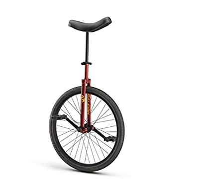 "Raleigh 24"" Unicycle Unistar Maroon"