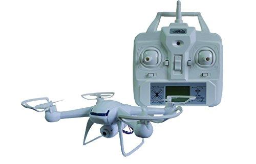 Night lions Tech (TM) Global drone 007 spy explorers 2.4G 4CH RC quadcopter HD Camera WHITE DM007 New