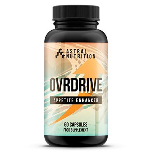 Ovrdrive Appetite Enhancer - 1 Month Supply | Max Strength Appetite Boosting...