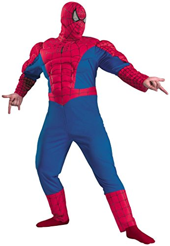 Spiderman Classic Muscle Chest Costume Item - Disguise