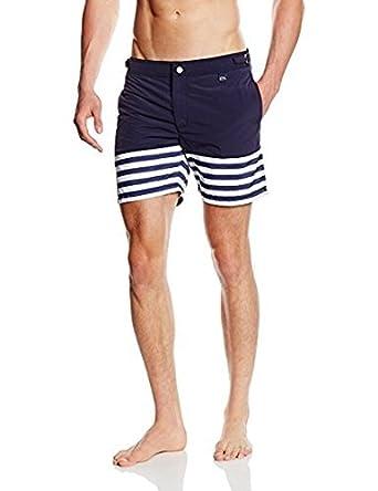 Hom Yacht - Short - À Rayures - Homme  Amazon.fr  Vêtements et accessoires 96f85407d50