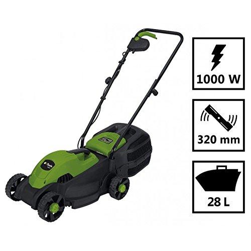 Elektro-Rasenmäher Itools 1000W–Schnittbreite 32cm–Becken 28L