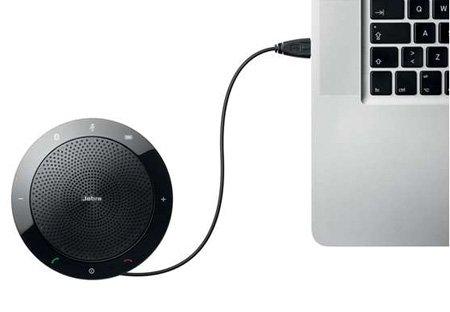Jabra Speak 510 for Business – USB & Bluetooth Speakerphone Microsoft Optimized