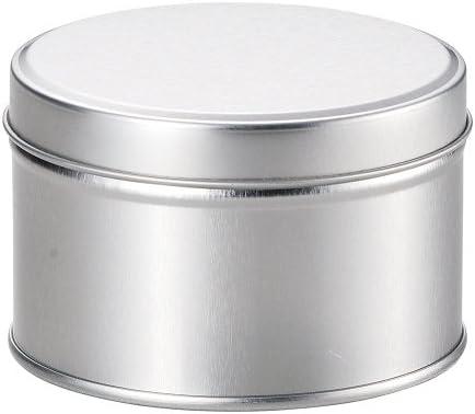 新潟精機 BeHAUS ブリキ缶 丸 C-250