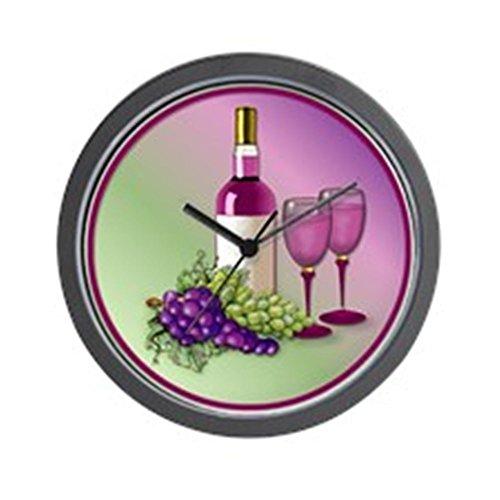 - CafePress - Wine & Grapes Still Life Wall Clock - Unique Decorative 10