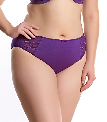 Elomi Women's Plus Size Cate Brief, Pansy, XXX-Large ()