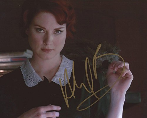 American Horror Story Signed Autographed Alexandra Breckenridge as Moira O'Hara 8x10 Photo -