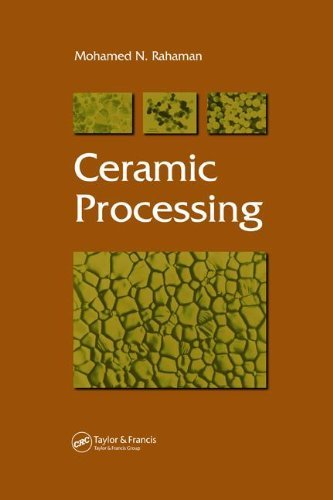 By Mohamed N. Rahaman Ceramic Processing (1st Edition) ebook