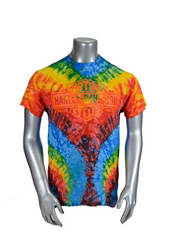 Harley-Davidson Woodstock 2019 Limited Edition Custom Tie-Dye T-Shirt- Woodstock (2Xlarge)