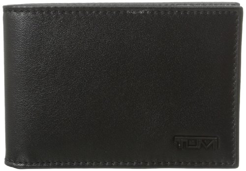 Fold Billfold (Tumi Men's Delta Slim Single Billfold, Black, One Size)