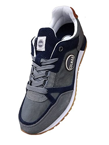 Lacets Gris Grigio Chaussures Colmar Baskets Homme Trasucol tEBtx7wrq