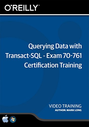 Querying Data Transact SQL Certification Training product image