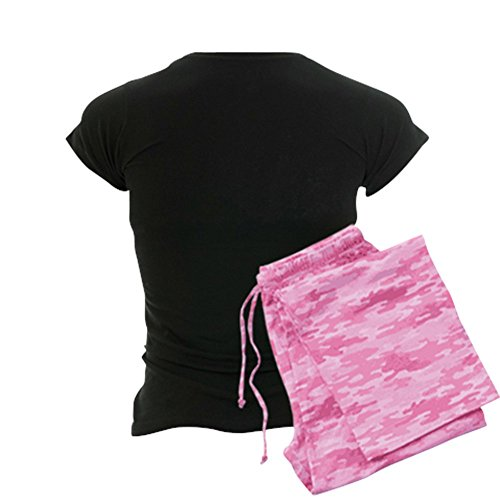 CafePress Pink Chicken Pajamas Women's PJs