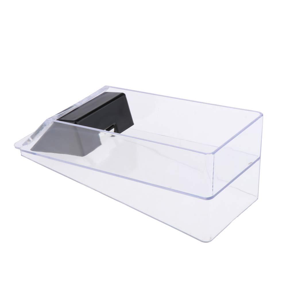 Sharplace 6 Deck Kartenmischmaschine Brettspielkarte Mischmaschine Elektrische Waschende