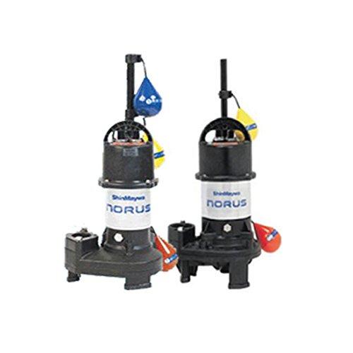新明和工業水中ポンプCRS321DS+WSーF32 0.15KW 単相100V自動型+自動交互型 高機能樹脂製軽量水中ポンプ B01AL2VHQ2