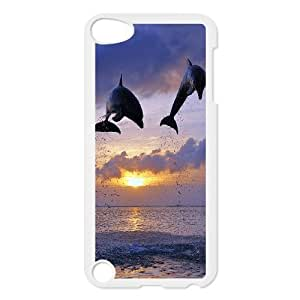AinsleyRomo Phone Case Dolphin and Sea pattern case FOR Ipod Touch 5 FSQF487313
