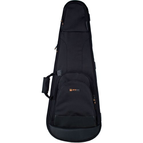 Foam Padded Poly Case Guitar - Protec Contego PRO PAC Bass Guitar Case with Tuck-Away Backpack Straps CTG233