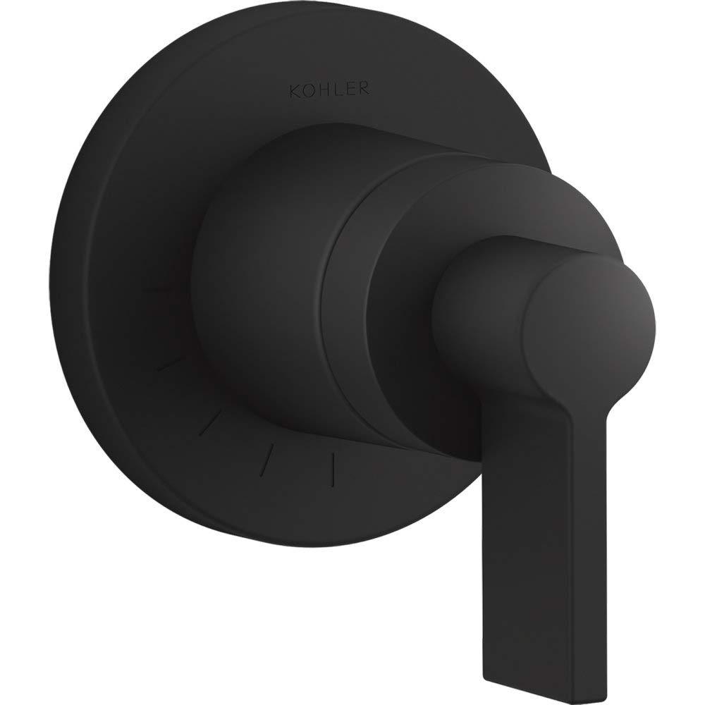 KOHLER T78025-4-BL Components Valve trim Matte Black TM