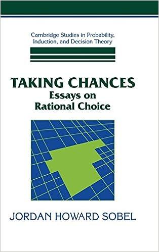 Taking chance essay