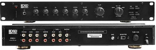 (OSD Audio Pre-1 High Definition Preamplifier - Multi Source Select Phono Ready)