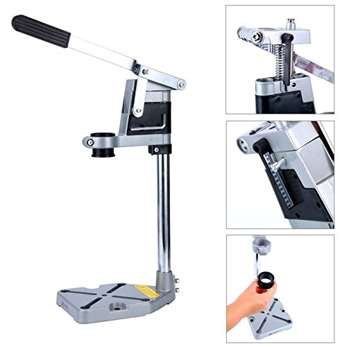 Drilax Aluminum Bench Clamp Drill Press Stand Workbench Repair Tool for Drilling by DRILAX
