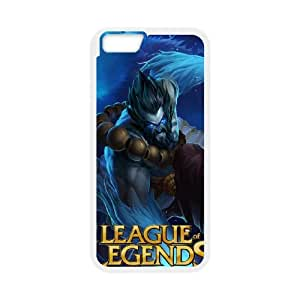 League Of Legends iPhone 6 Plus 5.5 Inch Cell Phone Case White GY030K06