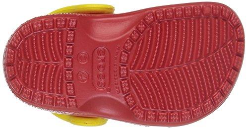 Crocs 204114, Sabots Enfants Unisex, Rouge (Flame), 20/21 EU