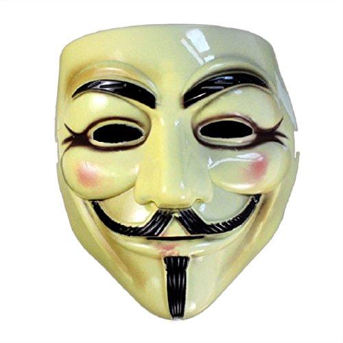 Top Dog Halloween Costumes 2016 (Egmy® Hot Men Halloween Masquerade Face Mask V For Vendetta Fancy Dress Party)