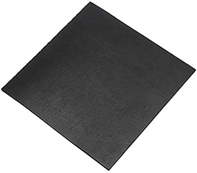 LuckyMAO O Rings 1pc High Temperature Black Square Rubber Plate Chemical Heat Corrosion Resistant Rubber Sheet Gaskets 1521523mm