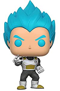 Funko - Figurine Dragon Ball Z - Vegeta Super Saiyan God Blue Pop 10cm - 0889698106993