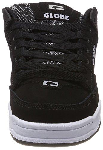 Homme black Jacquard Rouge De Globe Skateboard Tilt Chaussures Noir xqI4RI